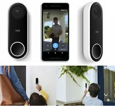 NEST Hello Video Doorbell HD video -Compatible with Google Home & Amazon devices