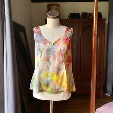 DYED PETALS Vintage Eco-Dyed Slip Tie-Dyed Top Cami Camisole 42/48