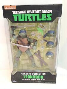 Teenage Mutant Ninja Turtles Classic Collection LEONARDO Playmates 2016 TMNT