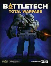 BattleTech Total Warfare Core Rule Book - Hardback - New