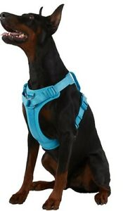 Top Paw Neoprene comfort harness XL Blue Dog, Used Only as Display Model