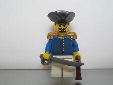 Lego PIRATES NAPOLEONIC WARS BELGIAN Infantry Officer MINIFIG
