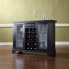 CrosleyCrosley Furniture Lafayette Sliding Top Bar Cabinet - BlackNew