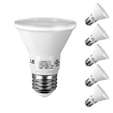 5 x Dimmable E26 PAR20 7W LED Bulb Lamp Recessed Light Warm White Halogen 50W