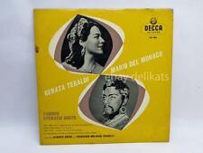 RENATA TEBALDI MARIO DEL MONACO Famous Operatic Duets disco 33 giri LP DECCA