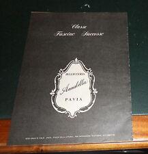 Advertising Italian Pubblicità Werbung :Annabella pellicceria Pavia   **1977**