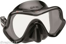 Mares One Vision Mask FreeDive Scuba Diving Dive Black Gray