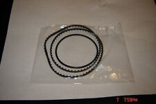 Super 8,Elmo K-110SM,K-120SM,Projector Belts, 2 Belt Set, Sync Belt & Motor Belt