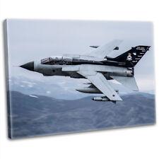 More details for raf gr4 tornado fighter jet canvas print framed photography wall art picture