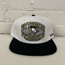 Pittsburgh Penguins Snapback Hat Reebok Face Off Headwear NHL Hockey New