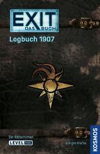 EXIT - DAS BUCH - LOGBUCH 1907 - Spiel - Kosmos - OVP