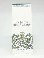 Hermes Un Jardin Apres La Mousson Perfumed Bath And Shower Gel ~  6.5 oz  BNIB