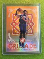 MARQUESE CHRISS ROOKIE REFRACTOR EBAY 1/1 PRIZM RC /25 SP 2016 Excalibur Crusade