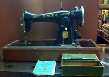 Macchina da cucire Singer mod.15k88 elettrica da tavolo anni '30