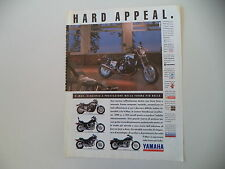 advertising Pubblicità 1991 MOTO YAMAHA V-MAX 1200