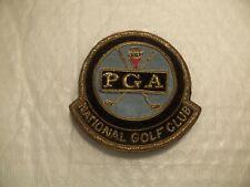 RARE Dated 1938 ? PGA NATIONAL GOLF CLUB HAT BADGE w/ WIRE THREAD very nice