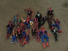 LOT OF 20 ACTION FIGURES-SPIDERMAN