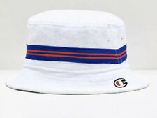 Champion White French Terry Cloth Bucket Hat- Size L/XL.