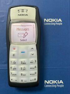 Original NOKIA 1100 Mobile Phone unlocked Classic game  GSM Old Cellphones