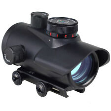 Red/Green/Blue Dot BSA 30mm rifle pistol Scope sight 20mm Weaver mount RD30