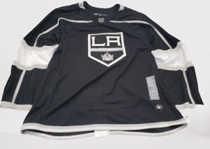 NWT Adidas NHL LA Kings Authentic Home Hockey Jersey Black DIFF SIZES MSRP $180
