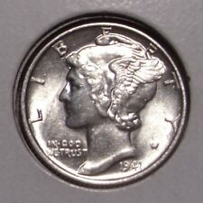 1941 Mercury Silver Dime , Choice BU