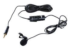 BOYA By-m1 Lavalier Microphone for Sony Canon Nikon DSLR iPhone 6s 6 Smartphone