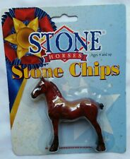Peter Stone Horse Glossy Red Decorator Cinnabar Chips Drafter Tsc Sr in Package!