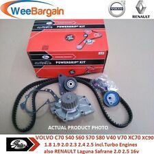 VOLVO 1.8 1.9 2.0 2.3 2.4 2.5 Turbo 16v 20v KP15509XS Timing/Cam Belt Water Pump