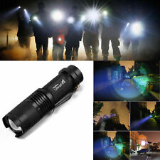 Ultrafire 10000LM Zoomable Lamp T6 LED Flashlight Torch 14500 Torch Bright Light
