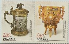 2006 POLAND-china JOINT GOLD & SILVER WARE 2V STAMP