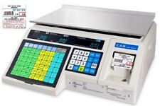 Cas Lp-1000N Ntep Label Printing Food Scale, Free 1 Case Lst-8040 Label, New