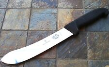 "Victorinox 8"" BUTCHER Knife Black Fibrox Handle Kitchen Cutlery 42531 NEW!"