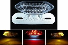 Motorcycle LED Stop Tail Light w/ Turn Signals for Moto Guzzi Streetfighter