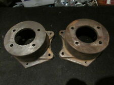 HOLDEN HZ WB REAR DISC BRAKE CALIPER BRACKETS PAIR LEFT AND RIGHT VGC STATESMAN