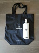 Reigning Champ SIGG WATER BOTTLE + Tote Bag Kit: White (*New)
