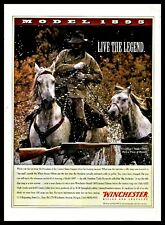 1996 Winchester Model 1895 Limited Edition Rifle Print Ad
