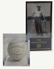 HERMAN KEISER  1946 MASTERS WIN CARD & HIS U.S. ROYAL BALL UNIT NOW ONLY $9.99