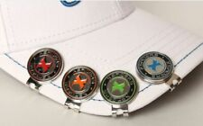 Magnetic Golf Ball Marker 2 Sets Hat clip Coin Plus BLADE Golf Tee Patented