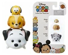 Tsum Tsum 3 - Pack Figures - Lucky 145 Lady 229 Pluto 110 Series 3