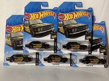 Hot Wheels Momo '71 Datsun 510 Black Nightburnerz Kday Kmart Exclusive Lot Of 5