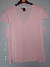 H&M Waist Length V Neck Tops & Shirts for Women