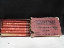 9 Soapstone Crayons vintage metal lumber industry marking tools Zelnicker Box