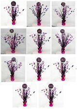 Amscan 9900576 2.13 m Celebración feliz 18 Cumpleaños carta Prismática