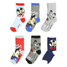 Mickey Mouse Socks for Boys - 6 Pairs