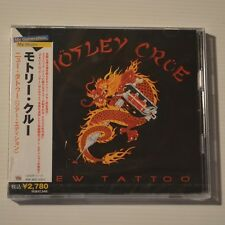 MOTLEY CRUE - NEW TATTOO - 2006 JAPAN 2-CD SET NEW & SEALED
