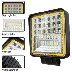 126W Led Work Light 9V-36V Off-Road Headlights  For Tractor Truck Excavator