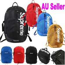 Unisex Supreme Travel Backpack School Shoulder Bags Waterproof L Laptop AU Stock