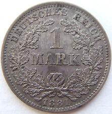 1 Mark 1881 D in Vorzüglich !!!