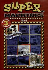 NEW DVD - SUPER MACHINES VOL 8 - 81 min - FRENCH & ENGLISH - 3EPISODES